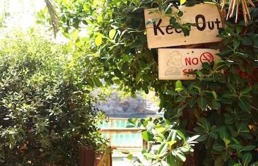 マルタ島ポパイ村の隠れポパイ