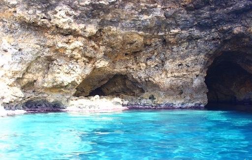 マルタ島ポパイ村の海