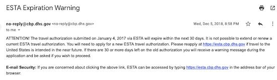 ESTAエスタの更新